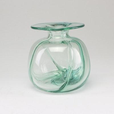 Blown Art Glass Vase