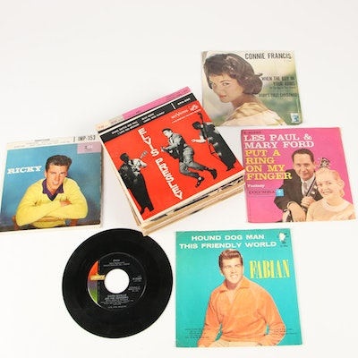 Early Rock & Roll, Pop and Oldies Records and More, Mid-Century
