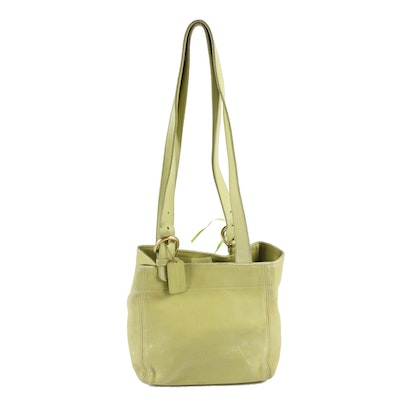 Coach Waverly Soho Bucket Bag in Spring Green, 1980s Vintage