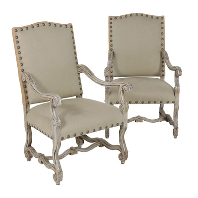 Contemporary Upholstered Armchairs