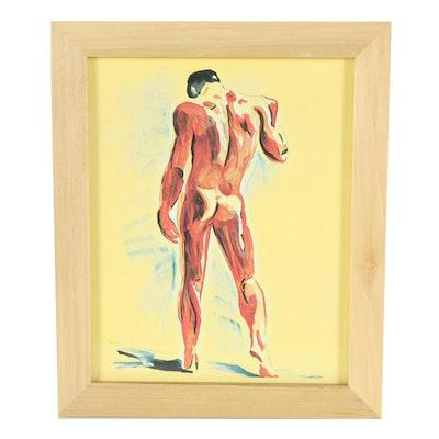 DeSanto Giclee of Male Figure