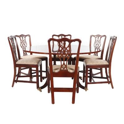 Hickory Chair Company Mahogany Dining Furniture Set