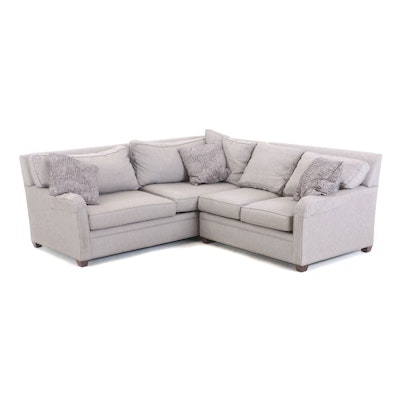 Drexel Heritage Upholstery Collection Sectional Couch