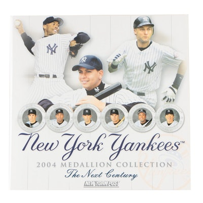 """Complete New York Yankees 2004 Medallion Collection From """"The New York Post"""""""