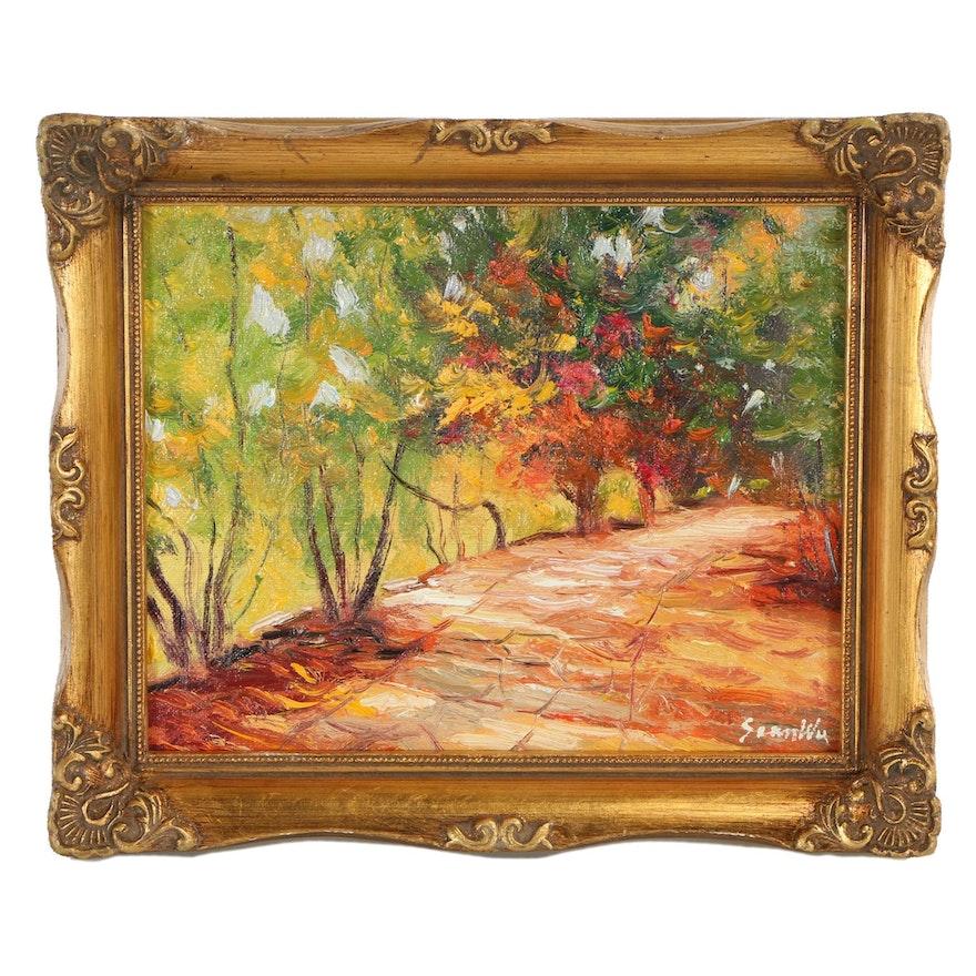 Sean Wu Landscape Oil Painting