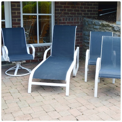 Mallin Aluminum Patio Furniture, Contemporary