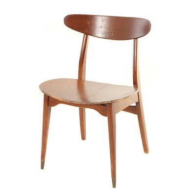 Mid Century Modern Teak Side Chair