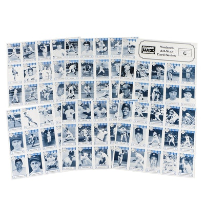 New York Yankees All-Star Card Series by Wiz and American Express, 1992