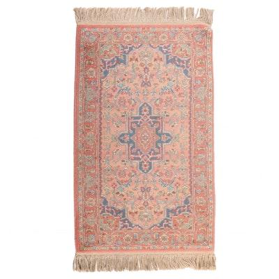 Machine-Made Karaja Style Wool Area Rug