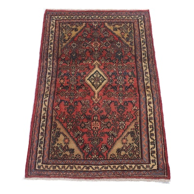 3'5 x 5'5 Hand-Knotted Northwest Persian Rug, Circa 1970s