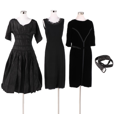 Jean of California Cocktail Dress with Others, Mid to Late 20th Century