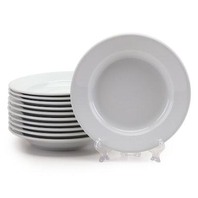 Apilco Ceramic Soup Bowls, Late 20th Century
