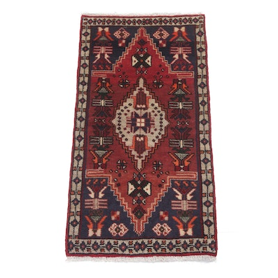 2' x 3'11 Hand-Knotted Northwest Persian Rug, Circa 1960s