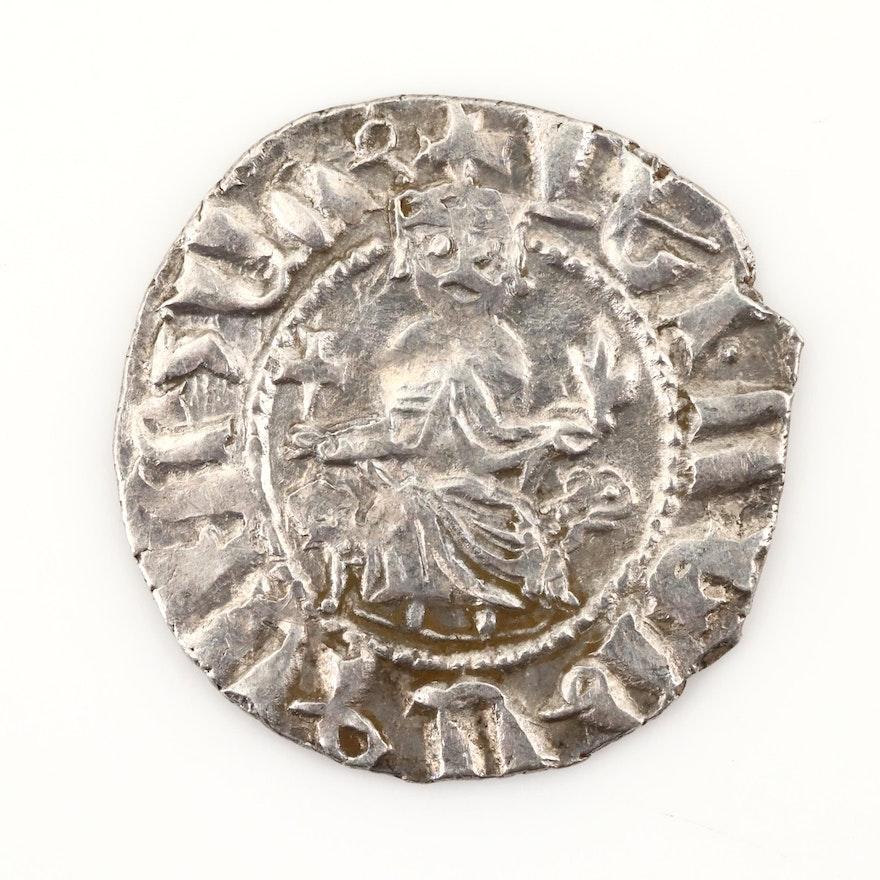 Armenian Hammered AR Tram Coin of Levon I, ca. 1200