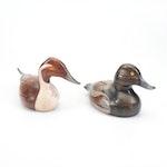 Two Ken Hopkins Duck Decoys by A Wooden Bird Factory, 1982