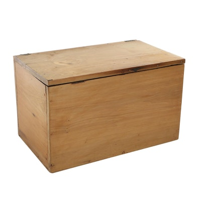 Primitive Lift-Lid Storage Chest, 20th Century