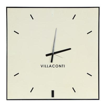 Contemporary Villaconti Wall Clock
