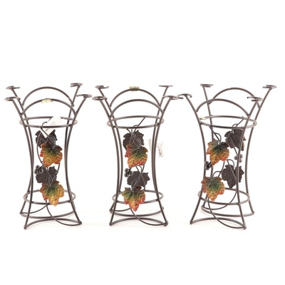 Wine Bottle and Wine Glass Holders