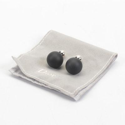 Dior Tribales Pierced Double Sided Earrings