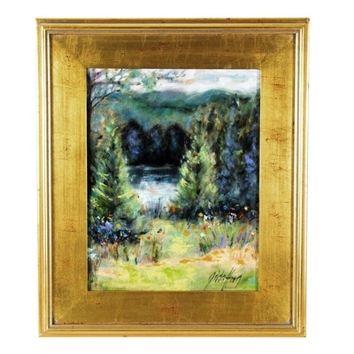 Gilda Horn Landscape Oil Painting