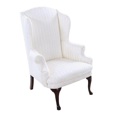 Wingback Armchair in White
