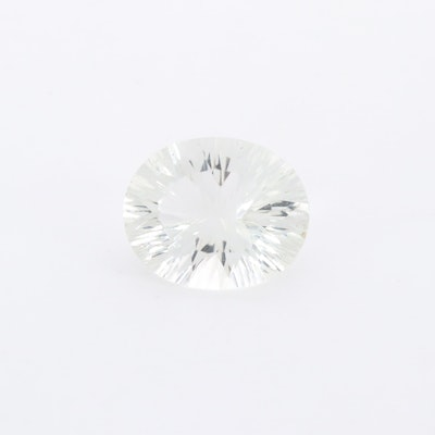 Loose 3.55 CT Aquamarine Gemstone