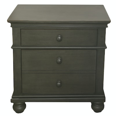 Aspen Home Nightstand with Grey Finish