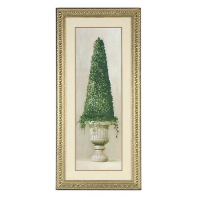 Offset Lithograph of Topiary After Welby