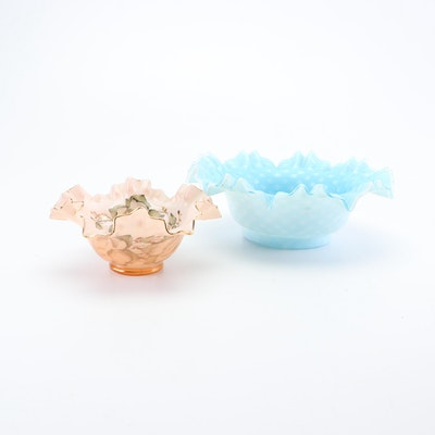 Mid-Century Art Glass Bowls