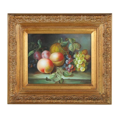 Fruit Still Life Oil Painting