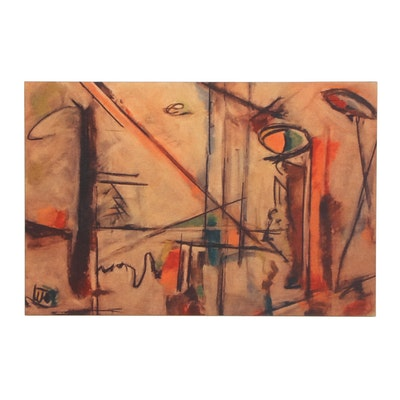 "Stefan George Giclee ""Modern Times"""