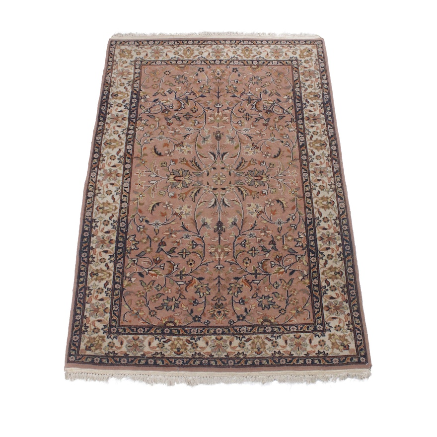 4' x 6'2 Hand-Knotted Indo-Persian Tabriz Rug