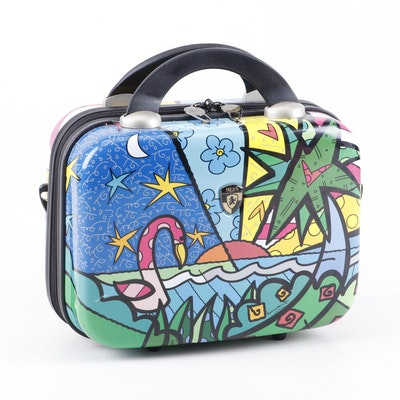 Romero Britto for Heys Luggage Pop Art Beauty Case
