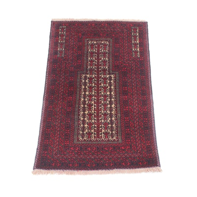 3' x 4'9 Hand-Knotted Persian Baluch Rug