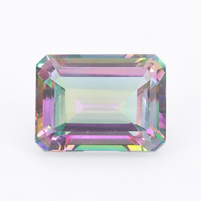 Loose 31.45 CT Mystic Topaz Gemstone