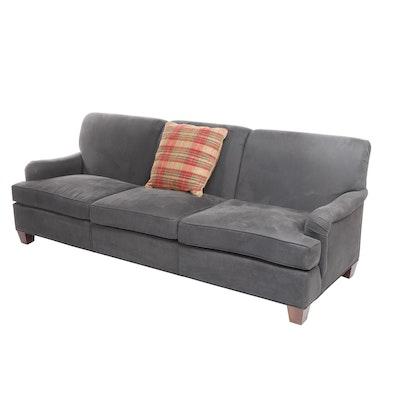 """EJ Victor, Grey """"Connoisseur"""" Sofa"""