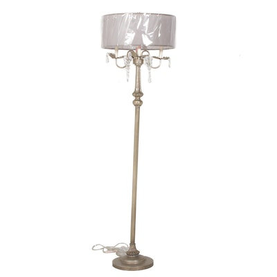 Lamps Per Se Floor Lamp with Crystal Accents