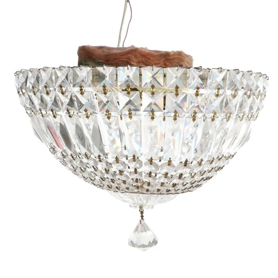 """A. Schonbek Empire Style """"Petit Crystal Deluxe"""" Chandelier, Late 20th Century"""