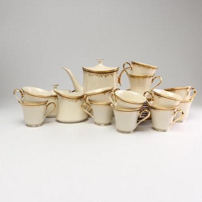 "Lenox ""Eclipse"" Bone China Tea/Coffee Service"