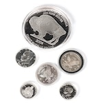 U.S. Silver Coinage and .999 Fine Silver Rounds