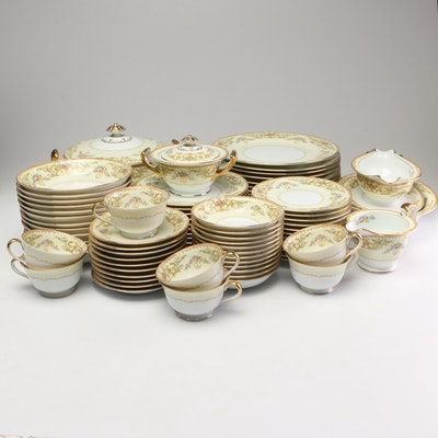 "Noritake ""Nanette"" Dinnerware, Early 20th Century"