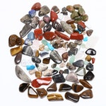 Polished Mineral Specimens Including Agate, Jasper, Unakite and Aventurine