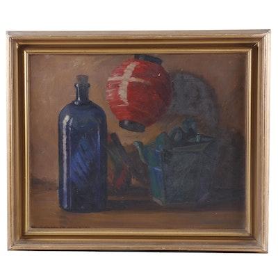 Wickliffe B. Moore Still Life Oil Painting