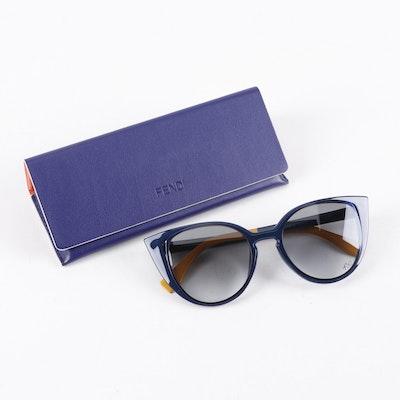 Fendi FF 0136/S Cat Eye Sunglasses with Case