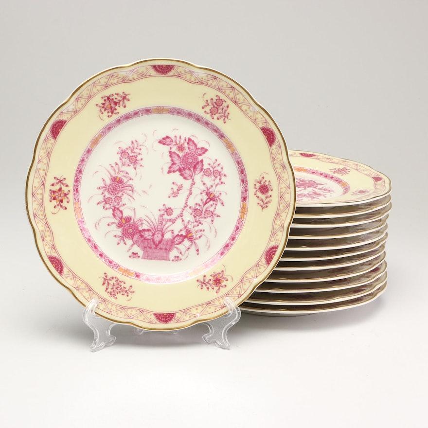 """Haviland Limoges """"Mir Hab"""" Porcelain Plates"""