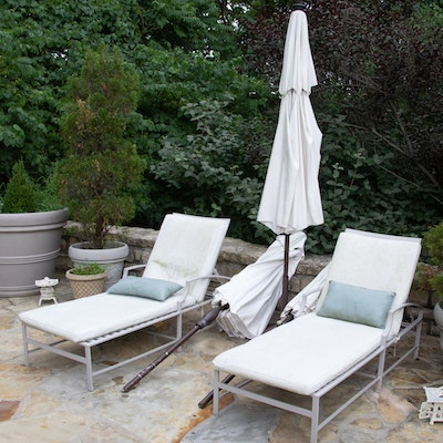 Frontgate Patio Lounge Chairs