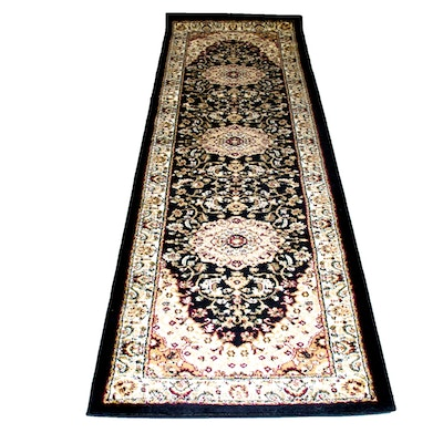"Machine Made Masada Rugs ""Bellagio"" Wool Pile Carpet Runner"