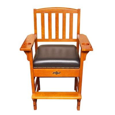 "American Heritage ""King"" Pool-Table Side Chair"