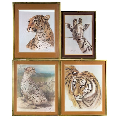 "Harold Rigsby Offset Lithographs Including ""Cheetah"""