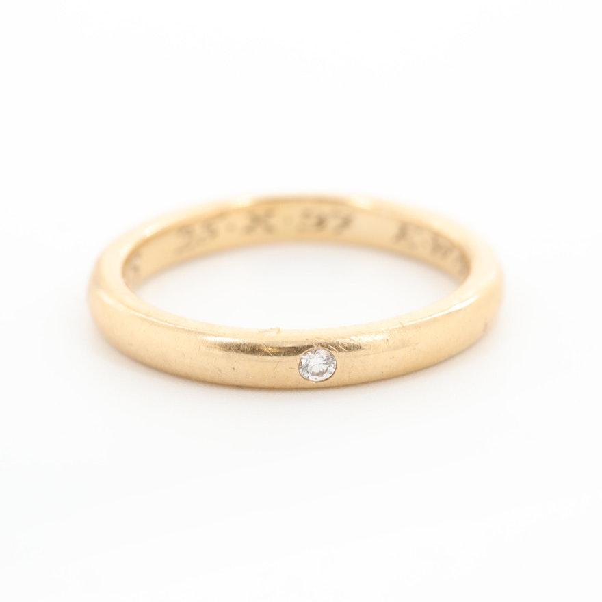 Tiffanyamp; Gold Elsa Co18k Diamond Yellow Peretti BandEbth For WED9IebH2Y